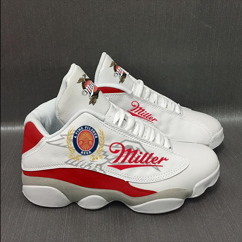 Miller Lite Beer Form Air Jordan 13 Sneakers Sport Shoes