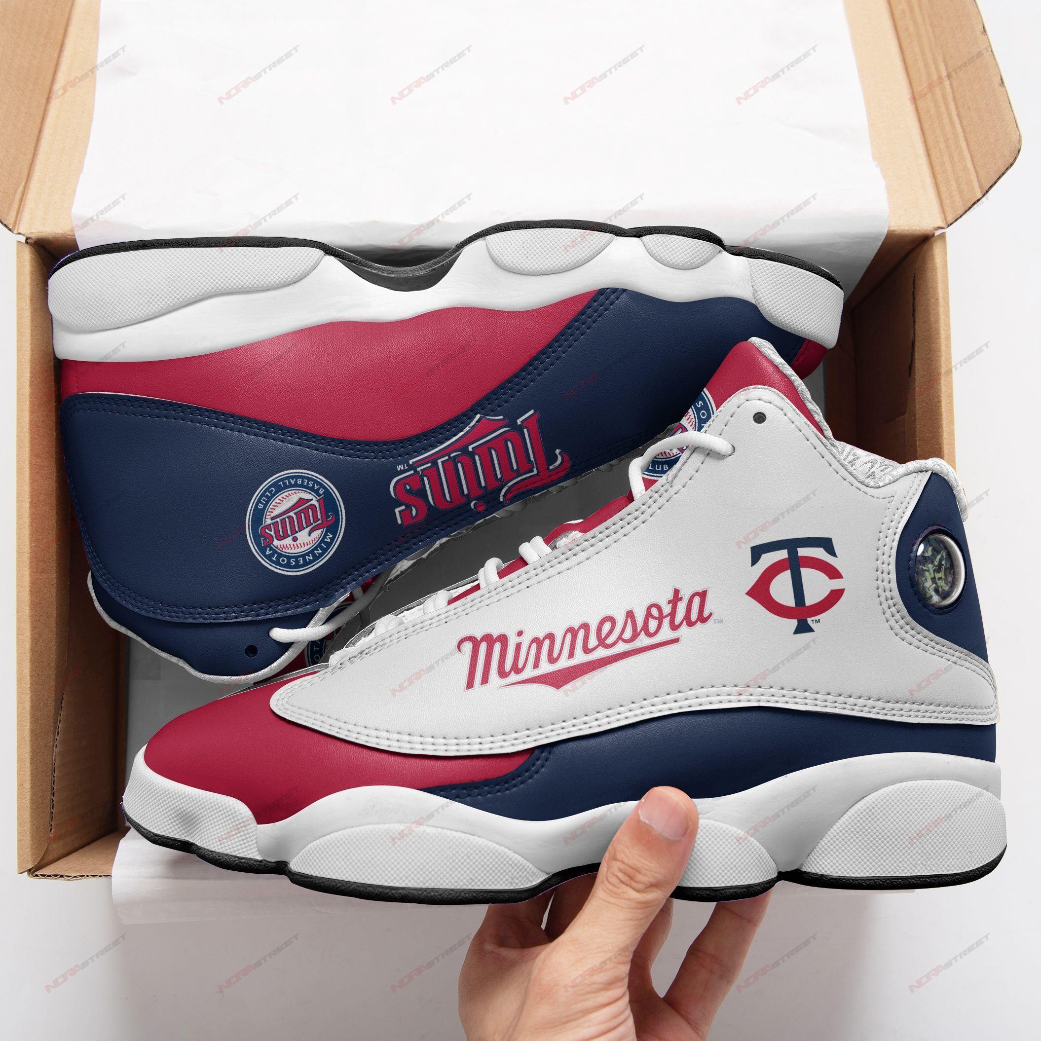 Minnesota Twins Air Jordan 13 Sneakers Sport Shoes Full Size