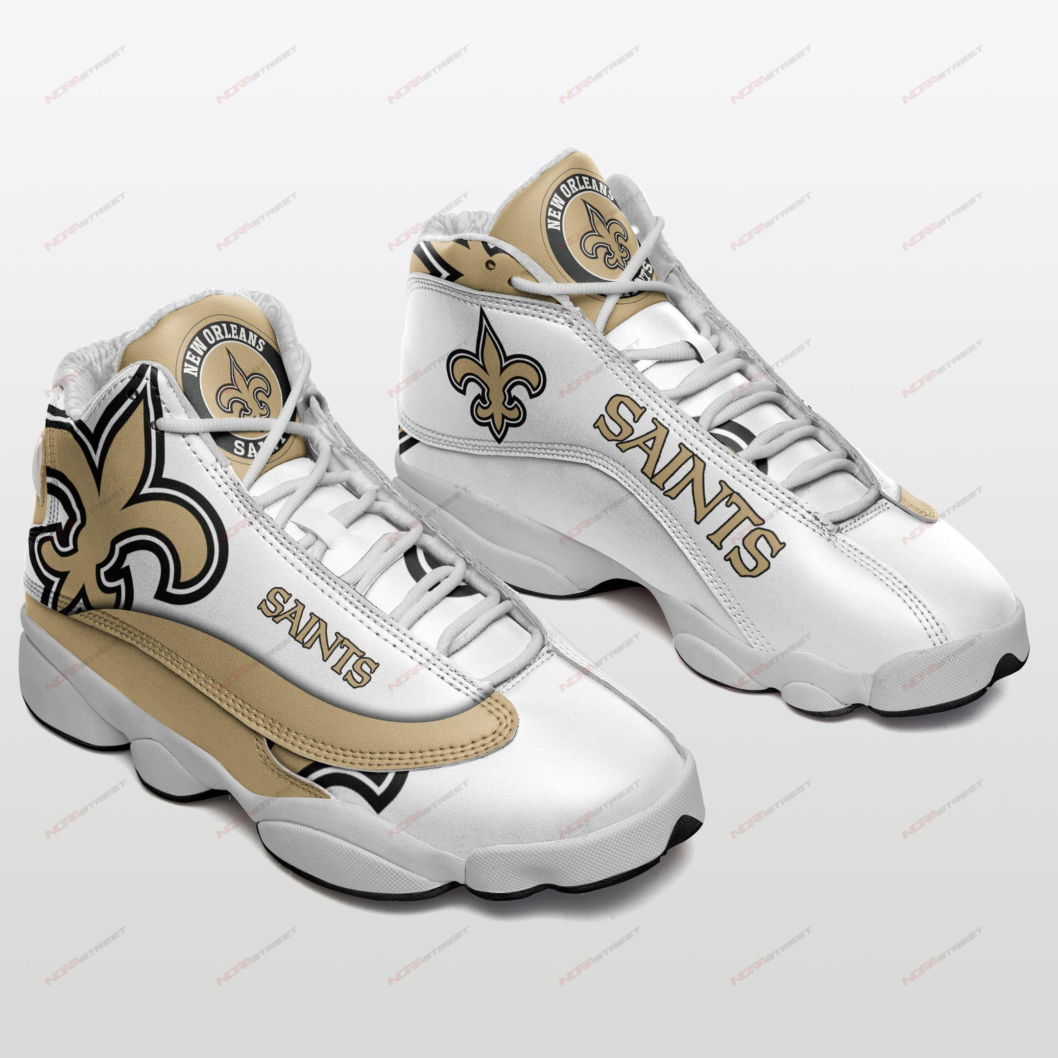 New Orleans Saints Air Jordan 13 Sneakers Sport Shoes