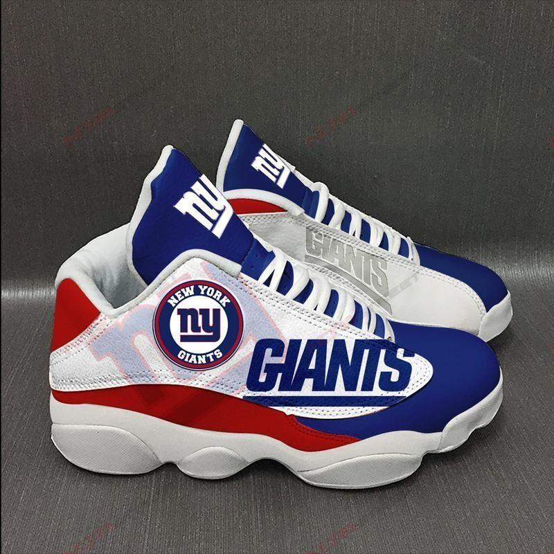New York Giants Air Jordan 13 Sneakers Sport Shoes Plus Size