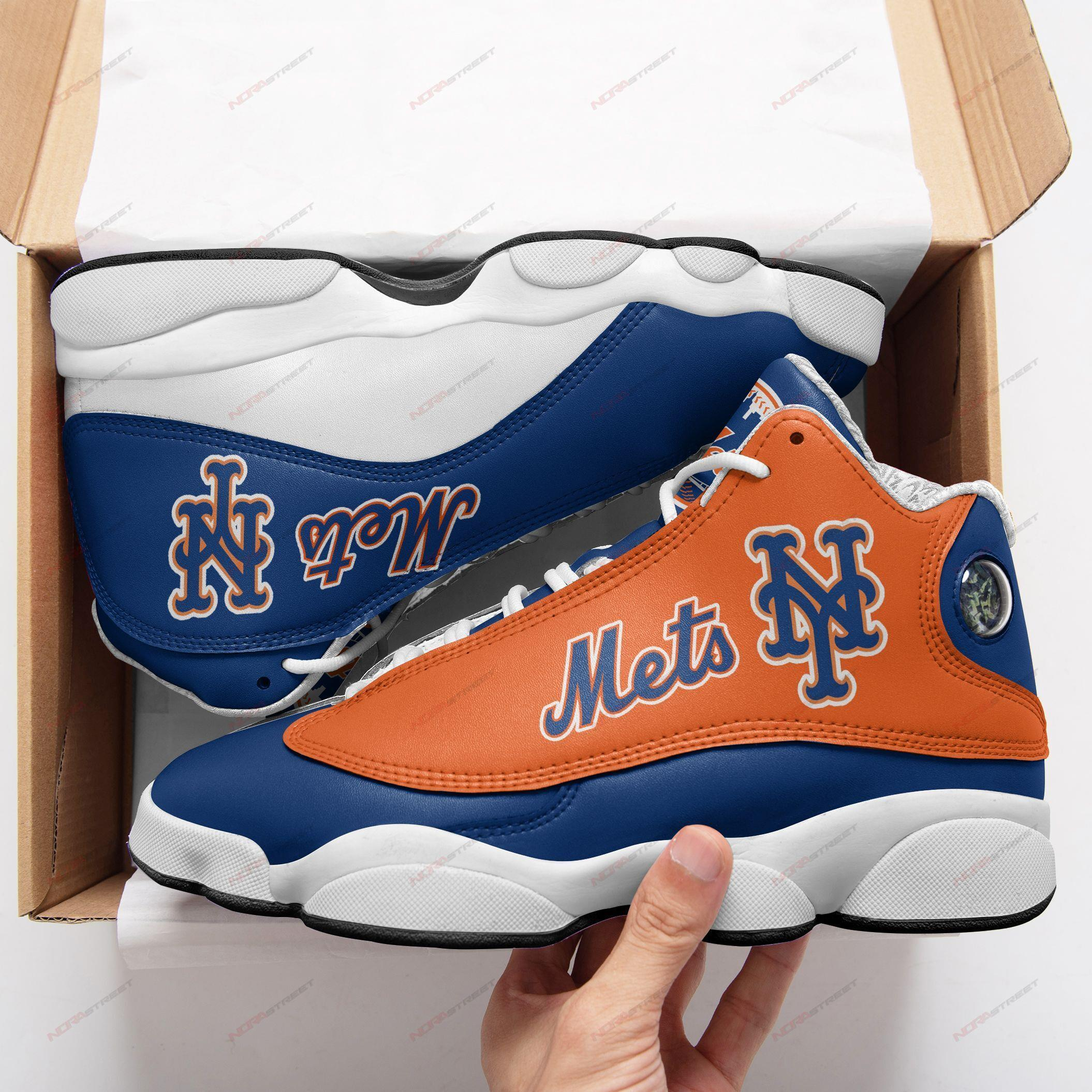 New York Mets Air Jordan 13 Sneakers Sport Shoes