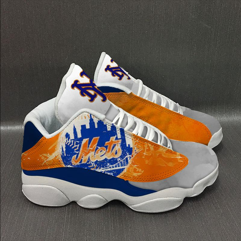 New York Mets Form Air Jordan 13 Sneakers Sport Shoes