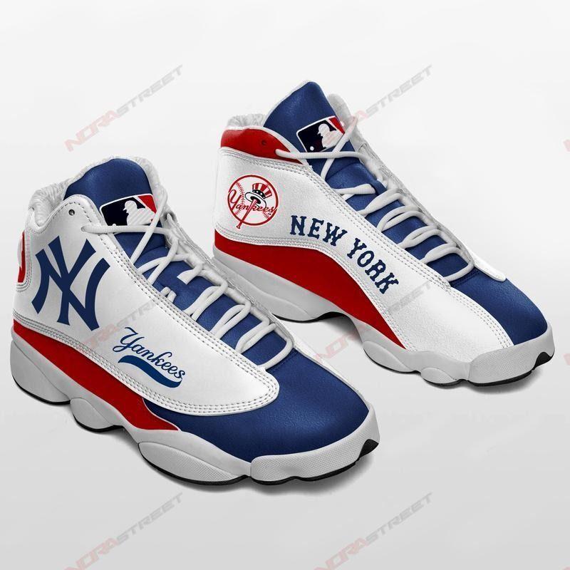 New York Yankees Air Jordan 13 Sneakers Sport Shoes Full Size