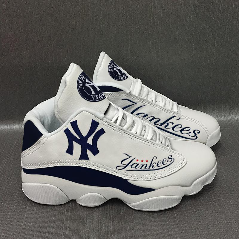 New York Yankees Form Air Jordan 13 Sneakers Sport Shoes Full Size