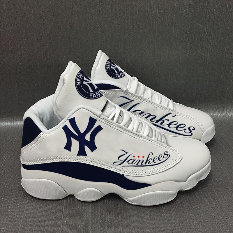 New York Yankees Form Air Jordan 13 Sneakers Sport Shoes Full Size