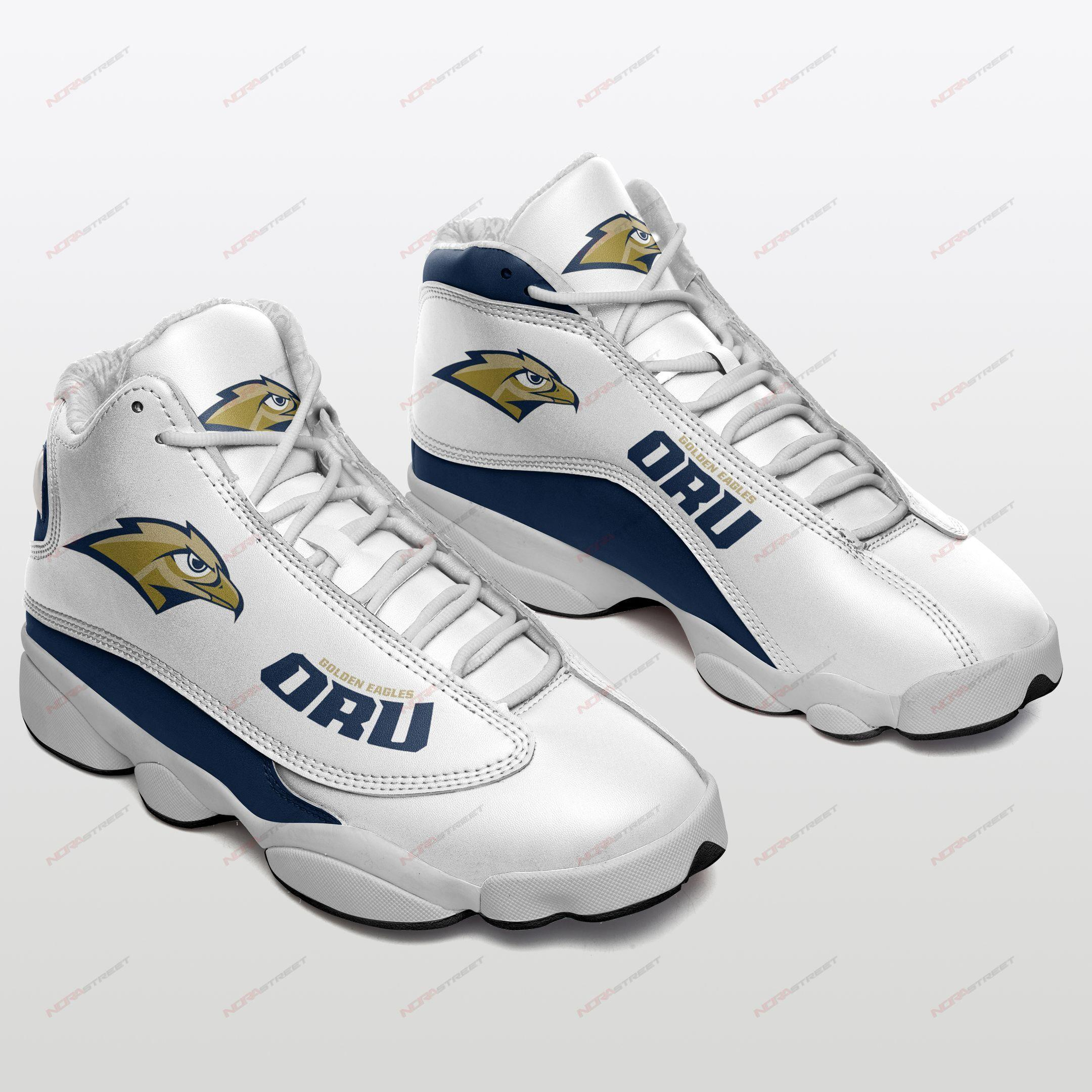 Oral Roberts Golden Eagles Air Jordan 13 Sneakers Sport Shoes Full Size