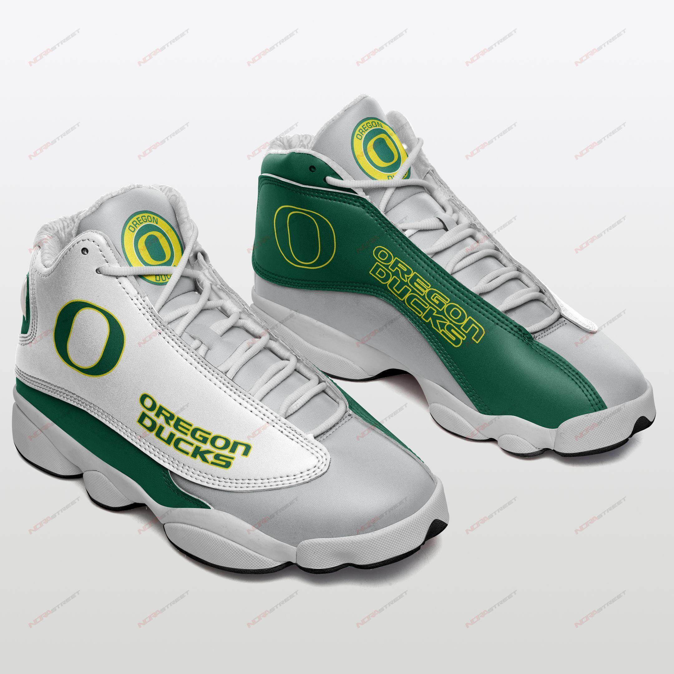 Oregon Ducks Air Jordan 13 Sneakers Sport Shoes Full Size