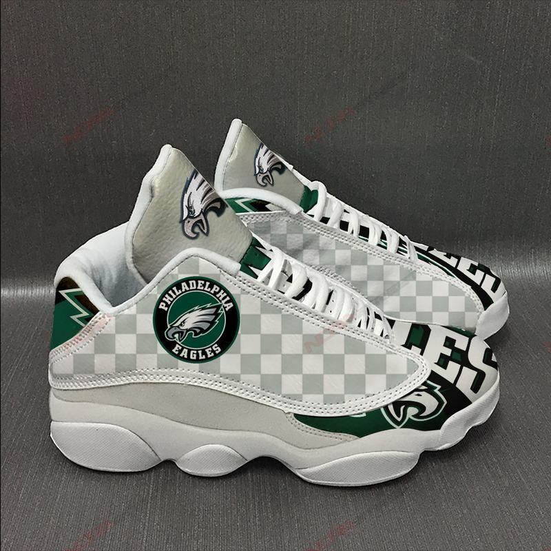 Philadelphia Eagles Air Jordan 13 Sneakers Sport Shoes