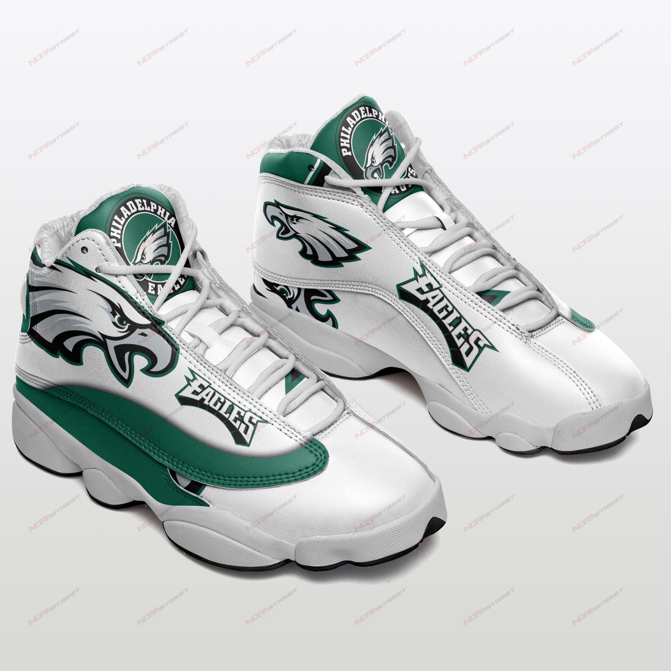 Philadelphia Eagles Air Jordan 13 Sneakers Sport Shoes