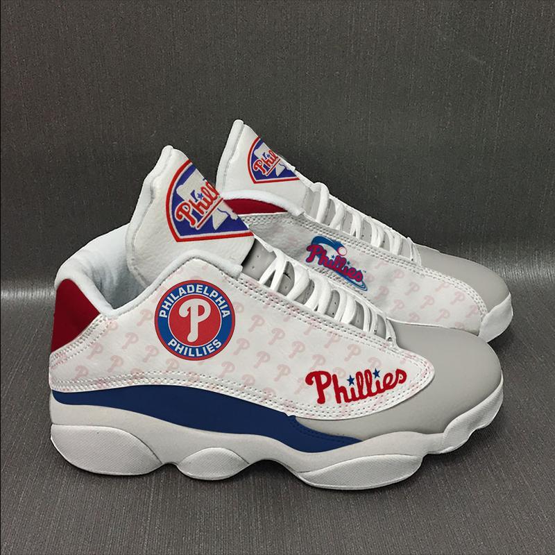 Philadelphia Phillies Form Air Jordan 13 Sneakers Sport Shoes Plus Size