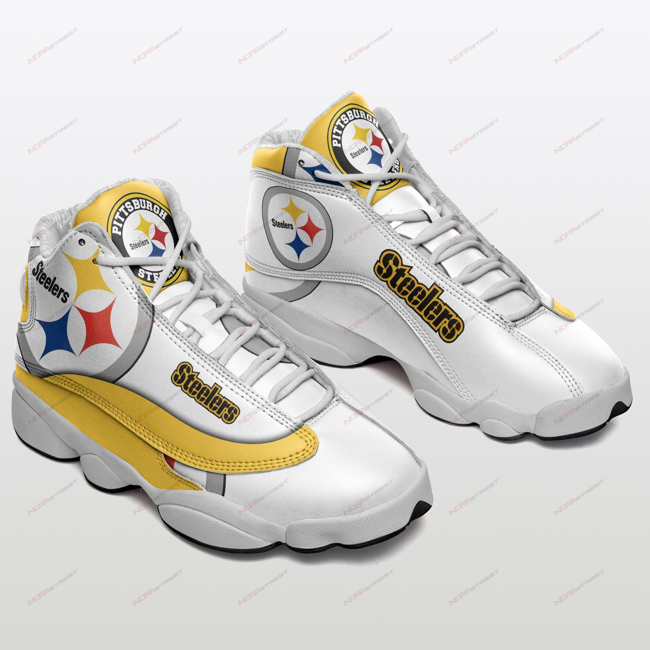 Pittsburgh Steelers Air Jordan 13 Sneakers Sport Shoes Plus Size