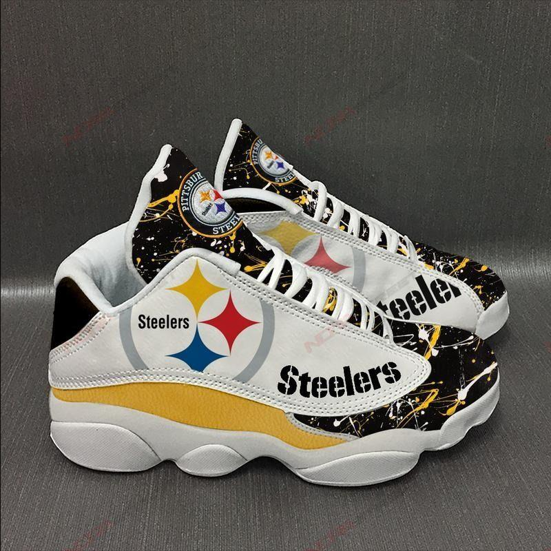 Pittsburgh Steelers Air Jordan 13 Sneakers Sport Shoes Plus Size