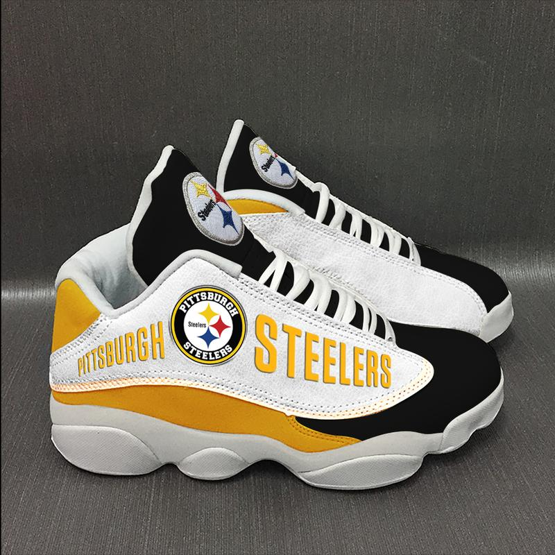 Pittsburgh Steelers Team Form Air Jordan 13 Sneakers Sport Shoes