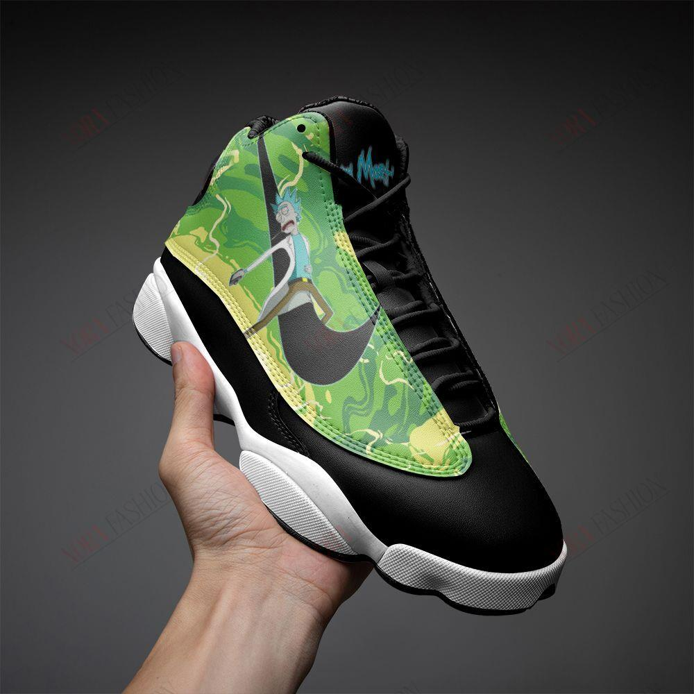 Rick And Morty Air Jordan 13 Sneakers Sport Shoes