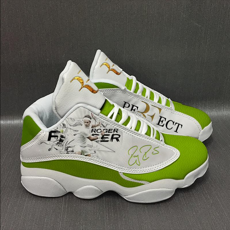 Roger Federer Form Air Jordan 13 Sneakers Sport Shoes