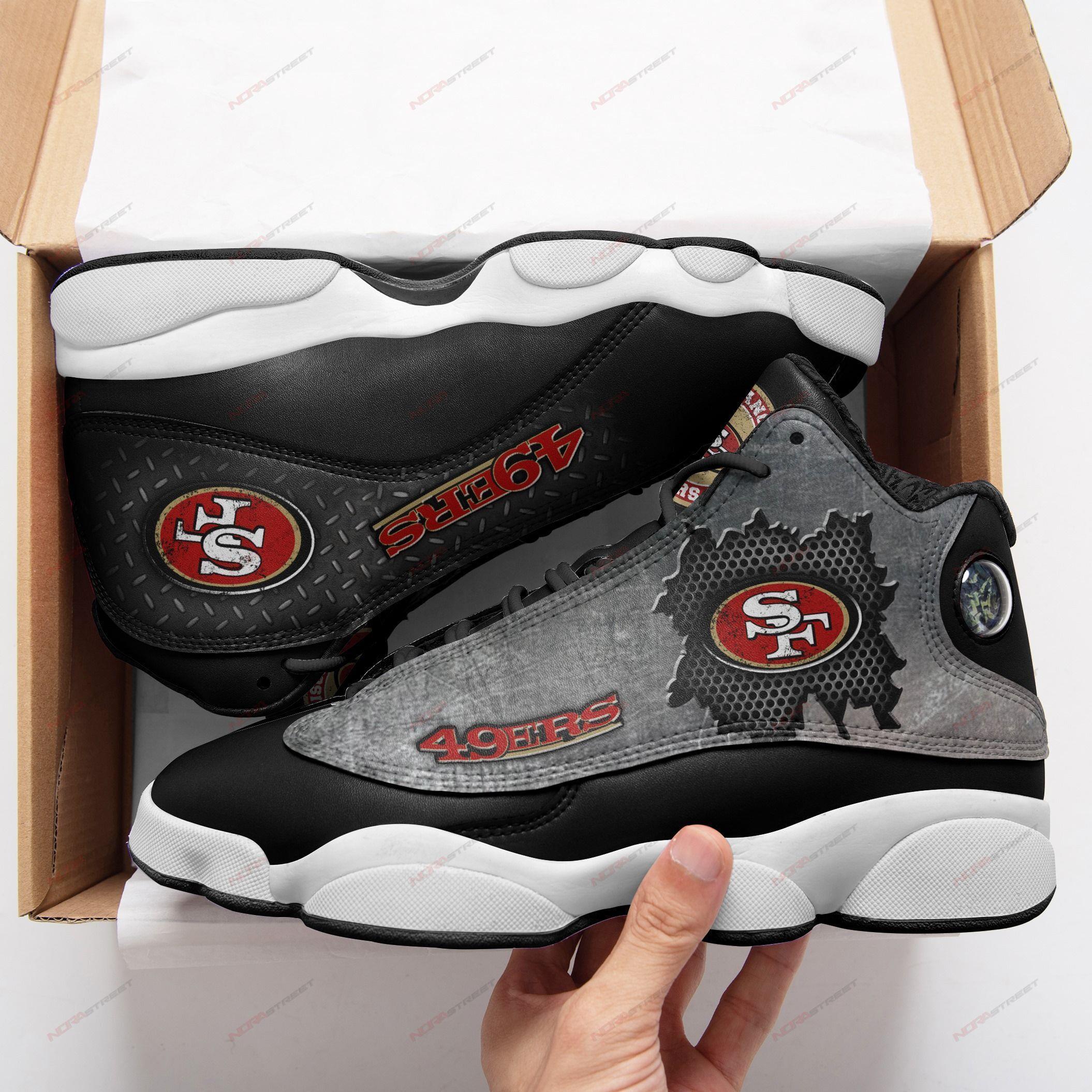 San Francisco 49ers Air Jordan 13 Sneakers Sport Shoes