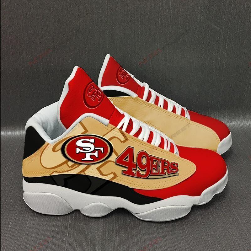 San Francisco 49ers Air Jordan 13 Sneakers Sport Shoes Plus Size