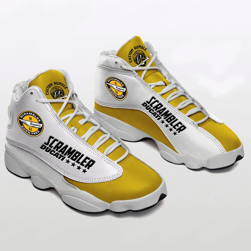 Scrambler Ducati Form Air Jordan 13 Sneakers Sport Shoes Plus Size