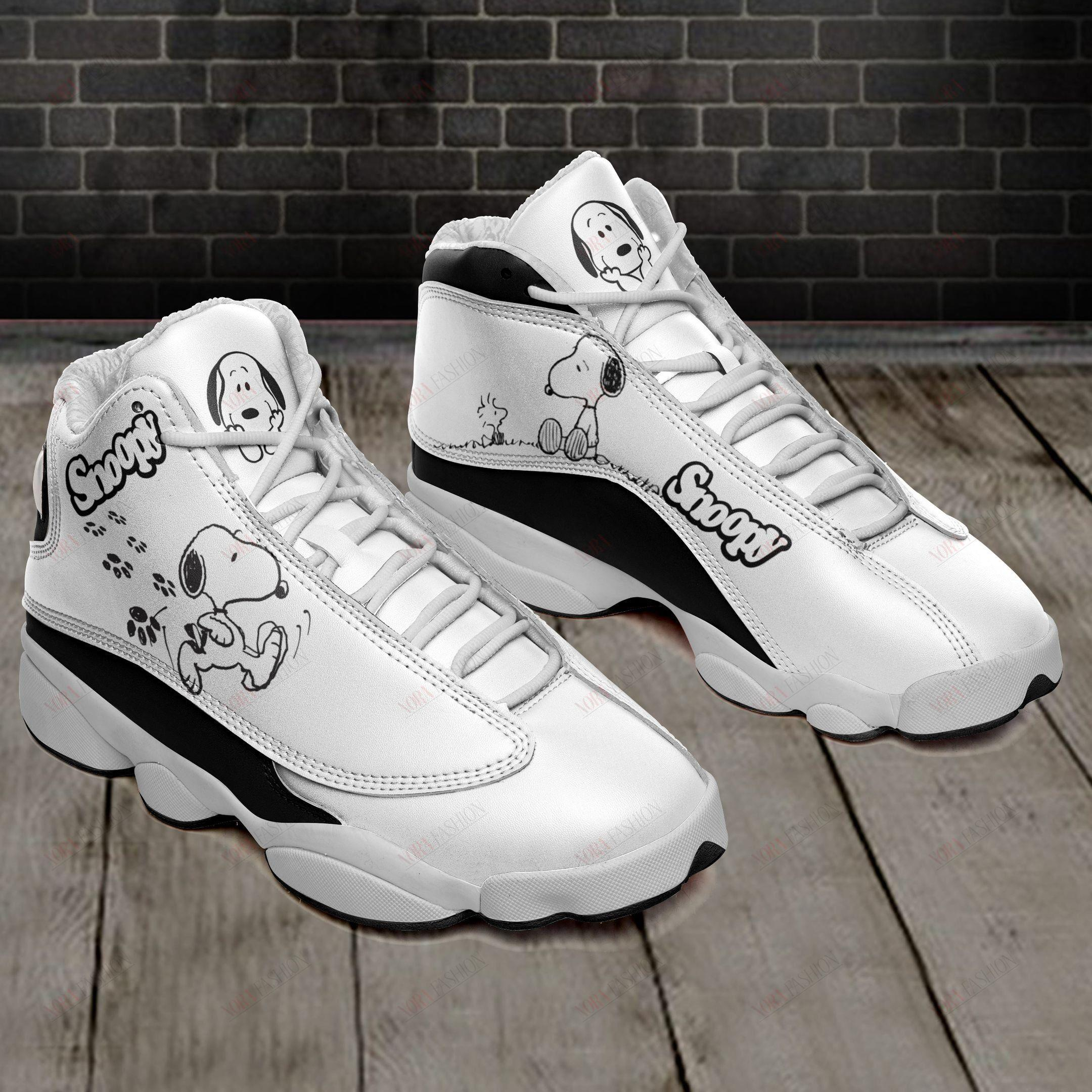Snoopy Air Air Jordan 13 Sneakers Sport Shoes