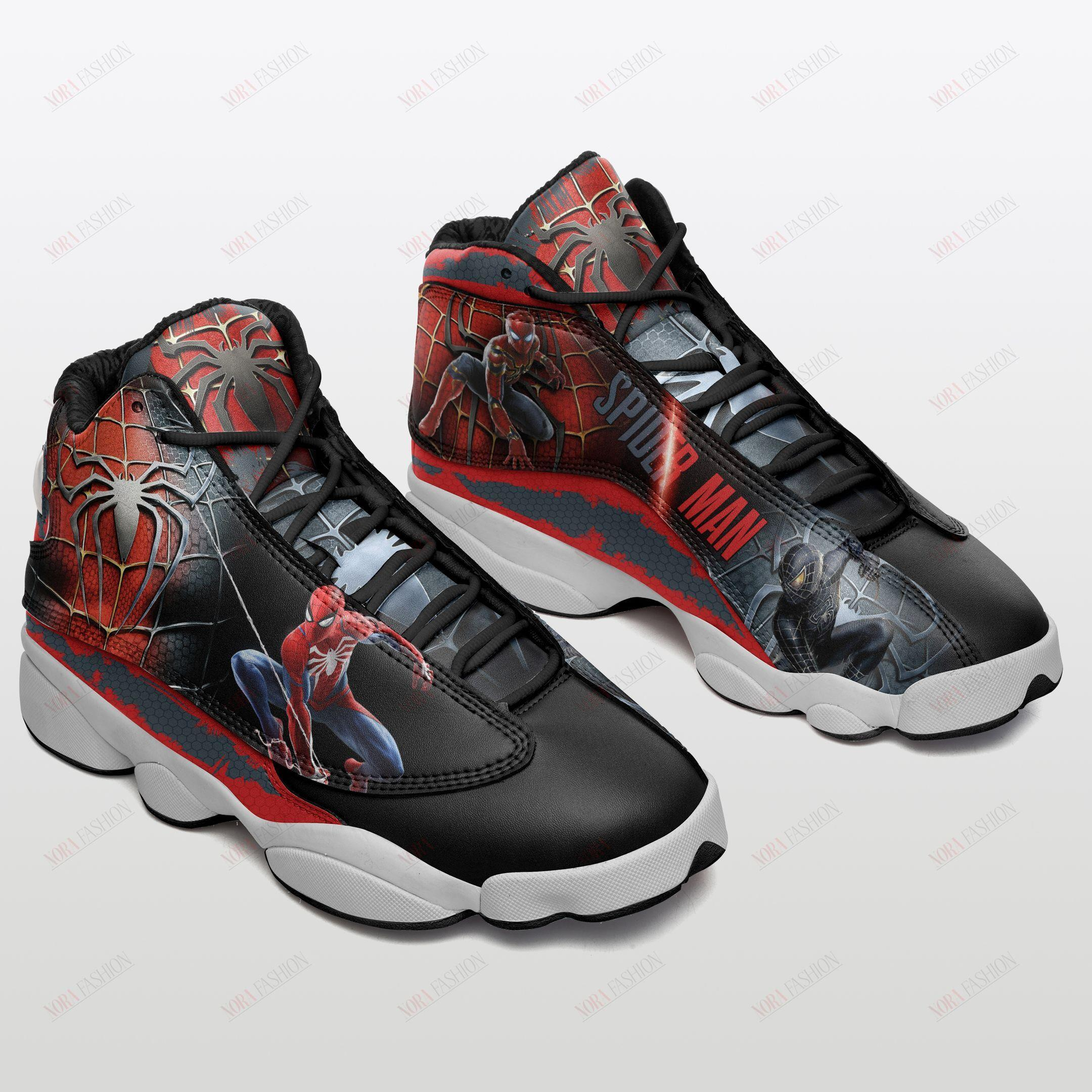 Spider Man Air Jordan 13 Sneakers Sport Shoes