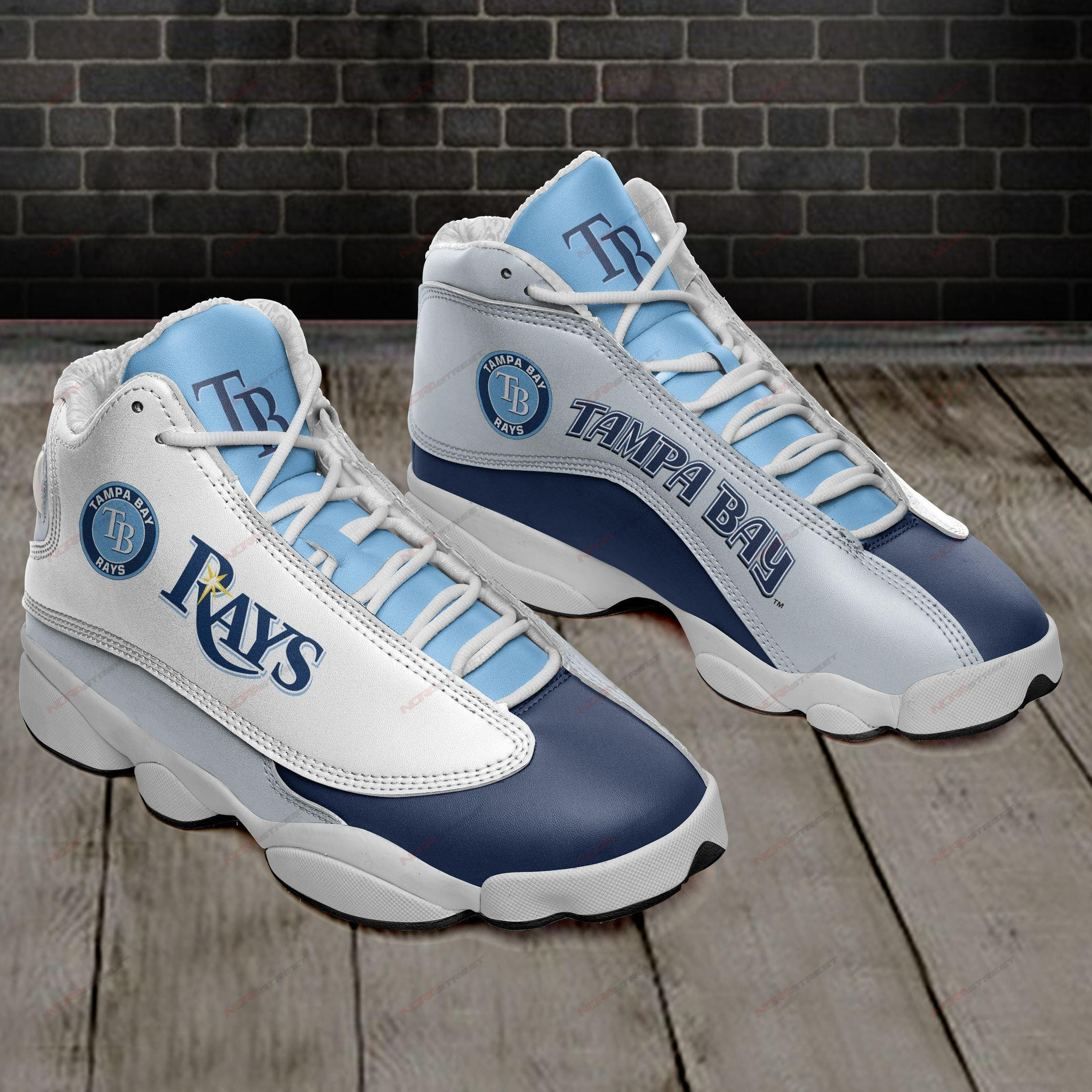 Tampa Bay Rays Air Jordan 13 Sneakers Sport Shoes Full Size