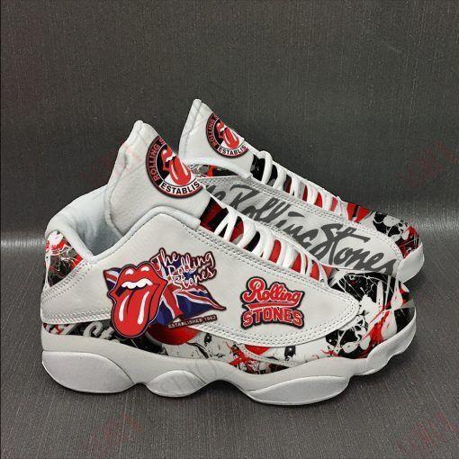 The Rolling Stones Air Jordan 13 Sneakers Sport Shoes Full Size