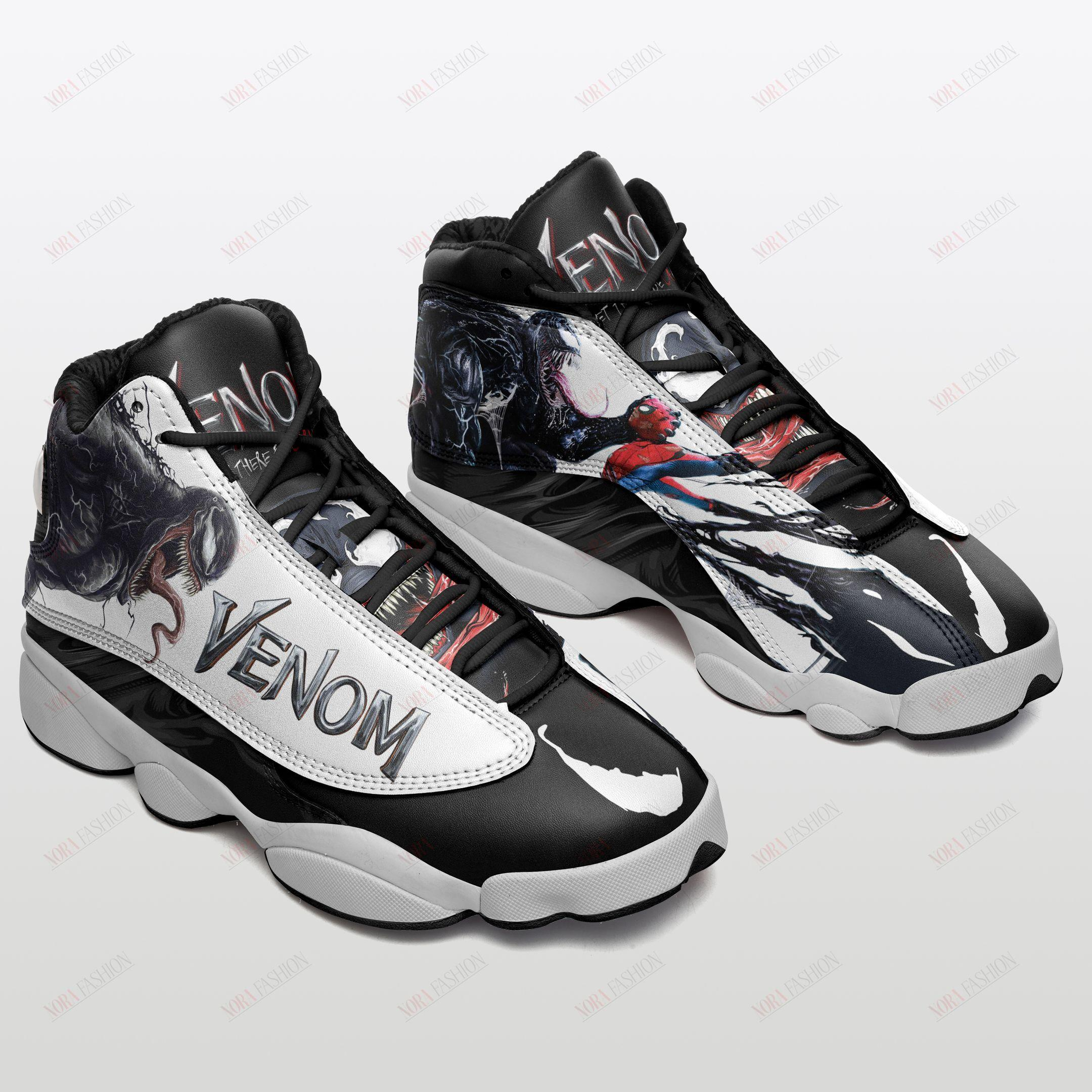Venom Air Jordan 13 Sneakers Sport Shoes Full Size