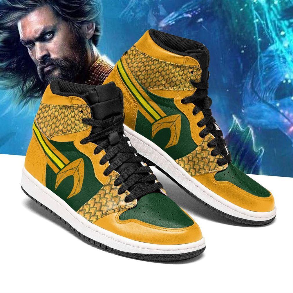 Aquaman Dc Comics Air Jordan Shoes Sport Sneaker Boots Shoes
