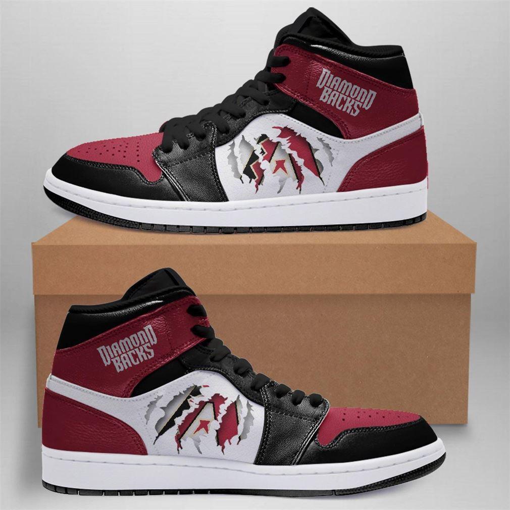 Arizona Diamondbacks Mlb Air Jordan Basketball Shoes Sport Sneaker Boots Shoes