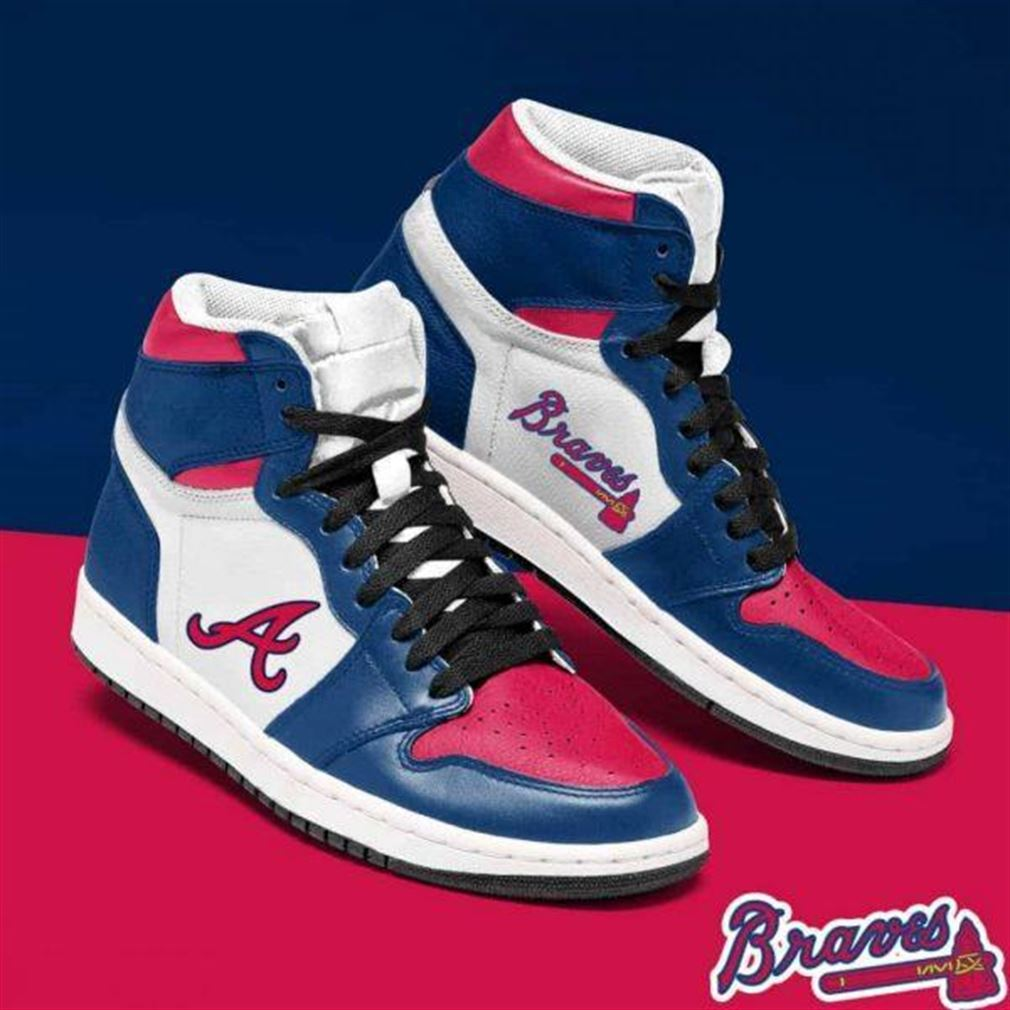 Atlanta Braves Mlb Baseball Air Jordan Shoes Sport Sneaker Boots Shoes