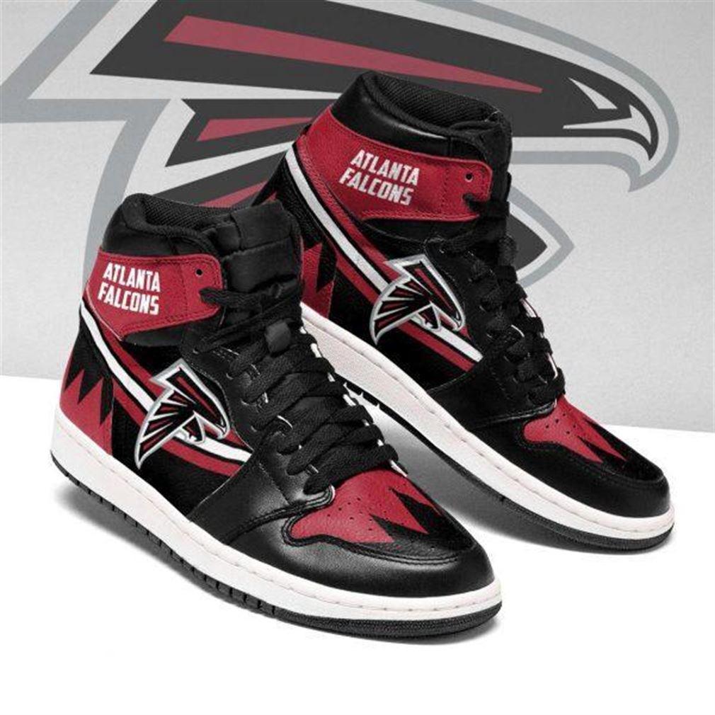 Atlanta Falcons Nfl Football Air Jordan Shoes Sport V4 Sneaker Boots Shoes