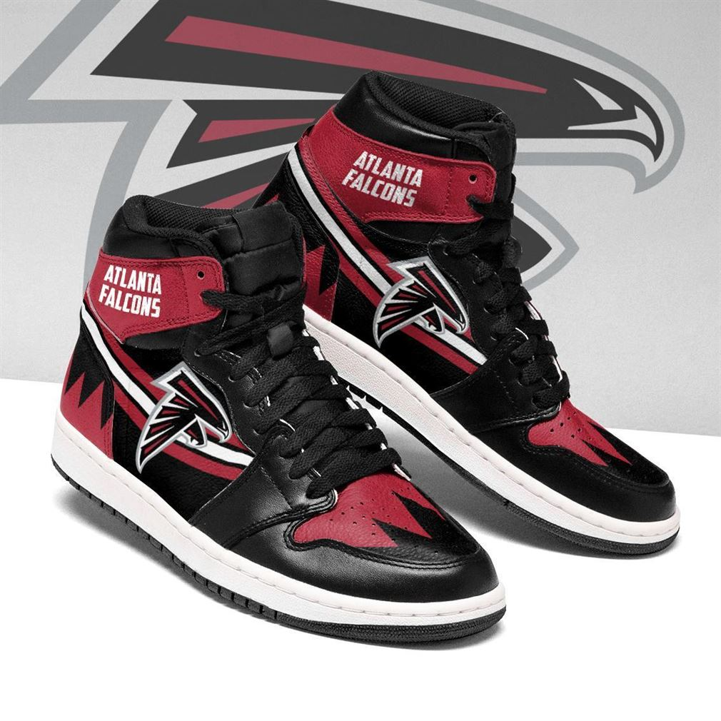 Atlanta Falcons Nfl Football Air Jordan Shoes Sport V5 Sneaker Boots Shoes