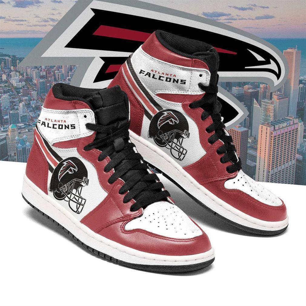 Atlanta Falcons Nfl Football Air Jordan Shoes Sport V6 Sneaker Boots Shoes