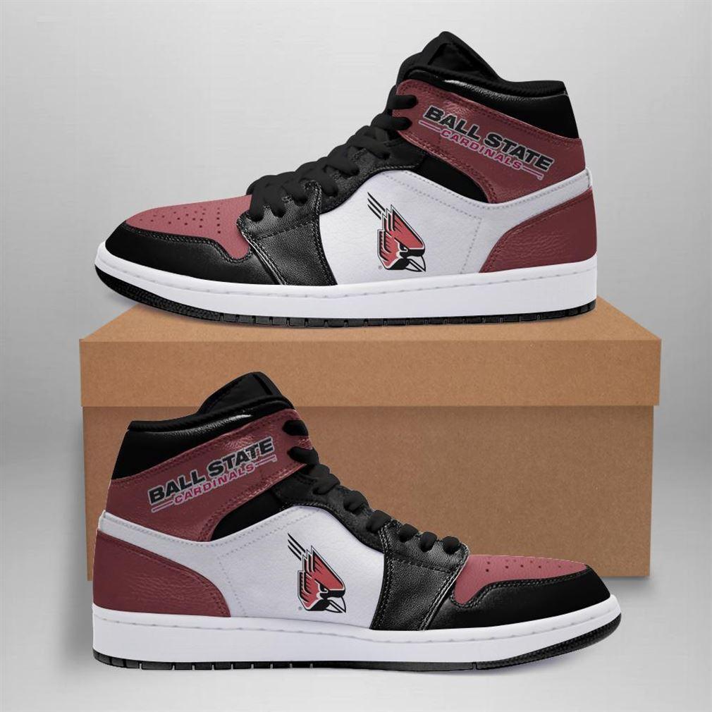 Ball State Cardinals Ncaa Air Jordan Shoes Sport Sneaker Boots Shoes