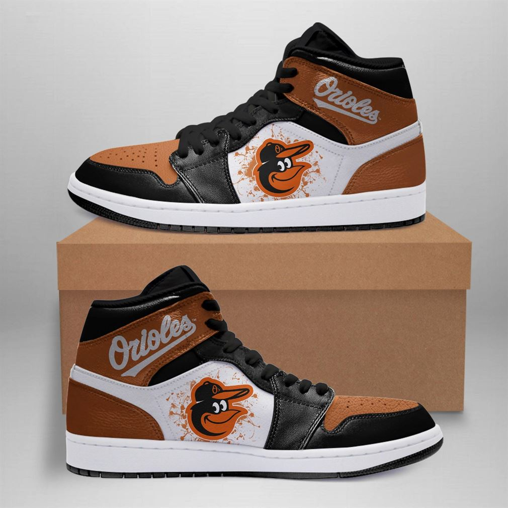 Baltimore Orioles Mlb Air Jordan Basketball Shoes Sport Sneaker Boots Shoes