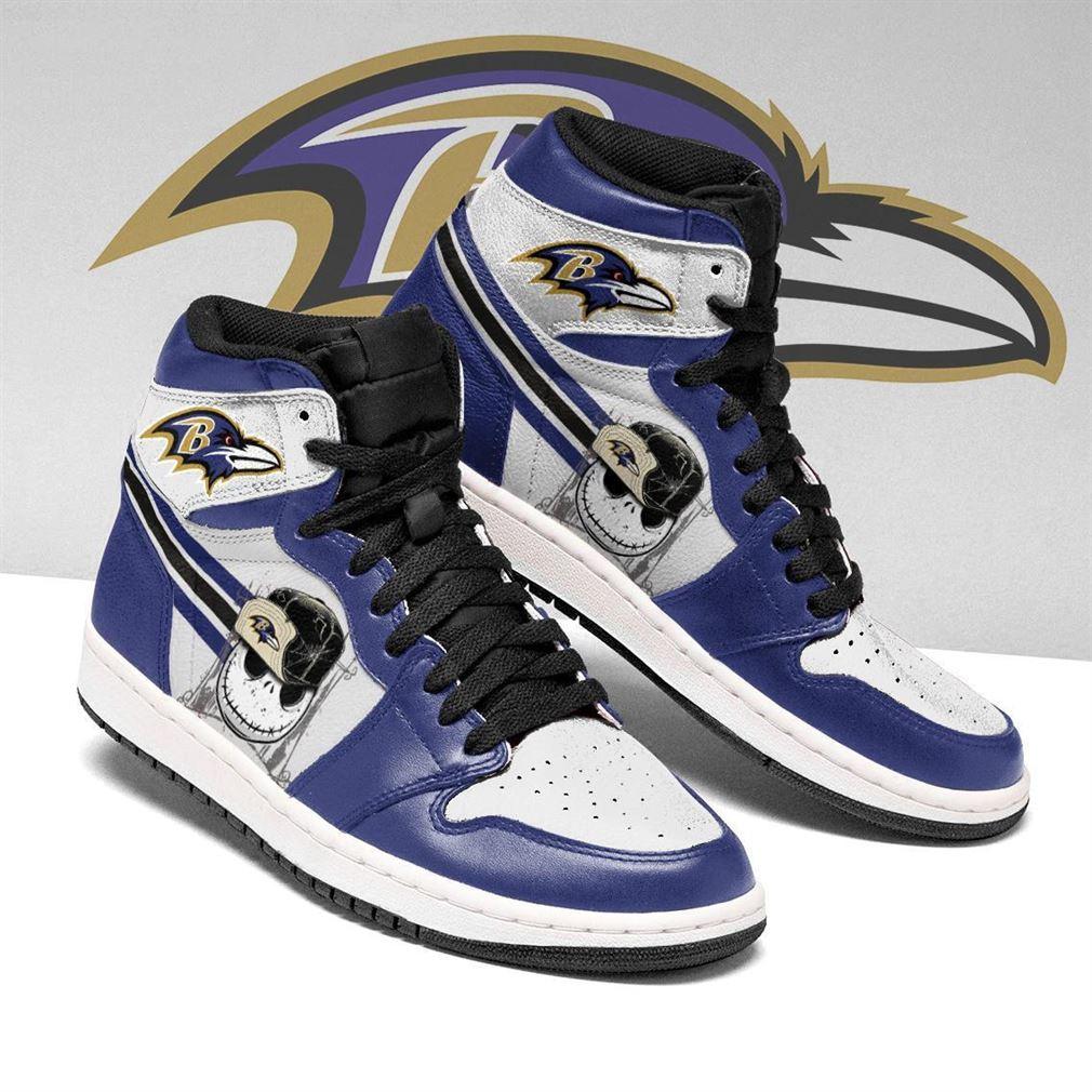 Baltimore Ravens Nfl Football Air Jordan Shoes Sport V5 Sneaker Boots Shoes