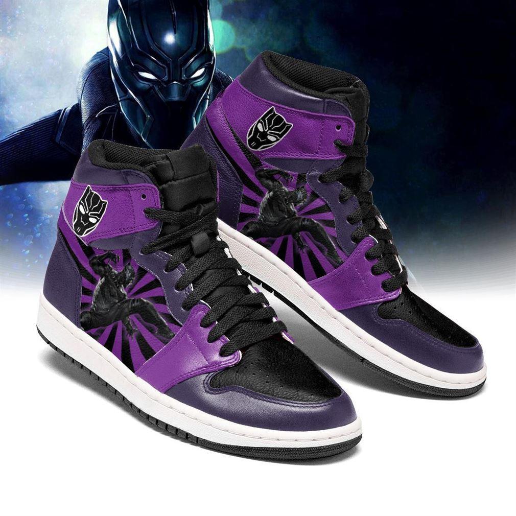 Black Panther Marvel Air Jordan Shoes Sport V3 Sneaker Boots Shoes