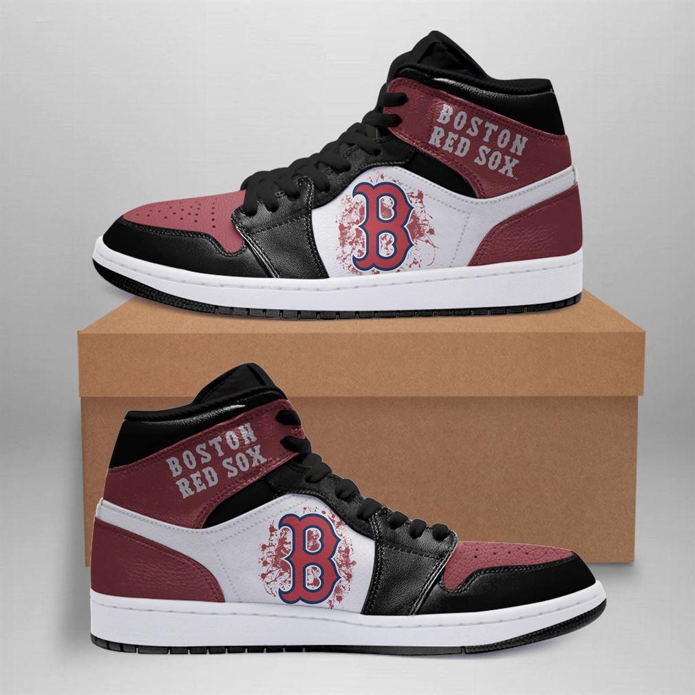 Boston Red Sox Mlb Air Jordan Basketball Shoes Sport Sneaker Boots Shoes