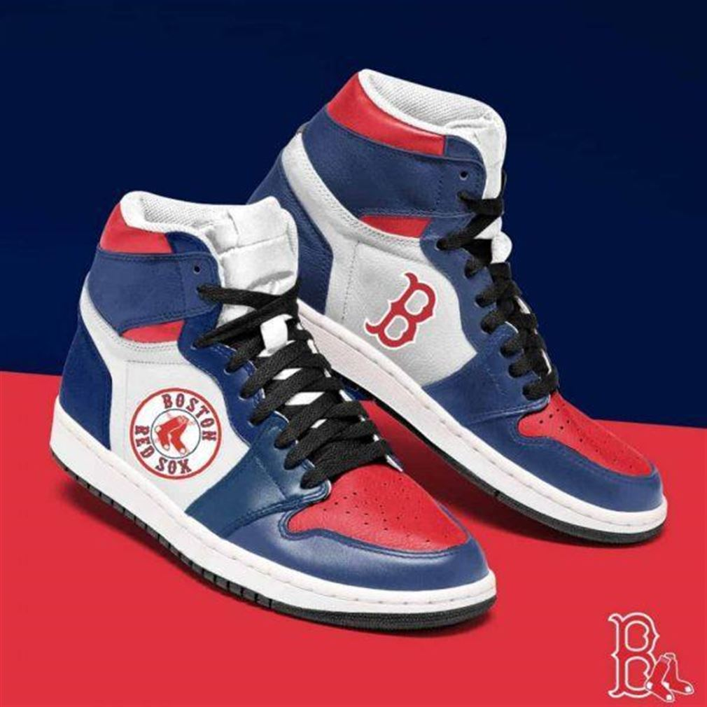 Boston Red Sox Mlb Baseball Air Jordan Shoes Sport Sneaker Boots Shoes