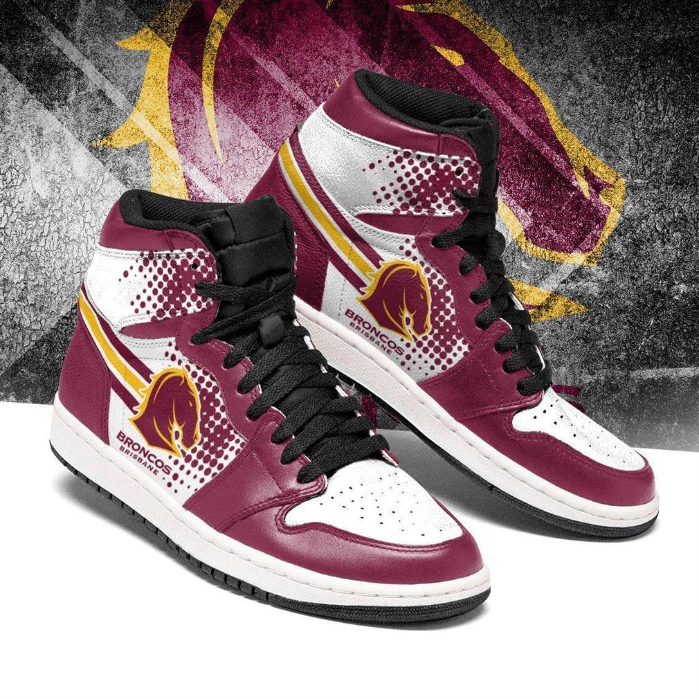 Brisbane Broncos Nrl Air Jordan Shoes Sport V3 Sneaker Boots Shoes