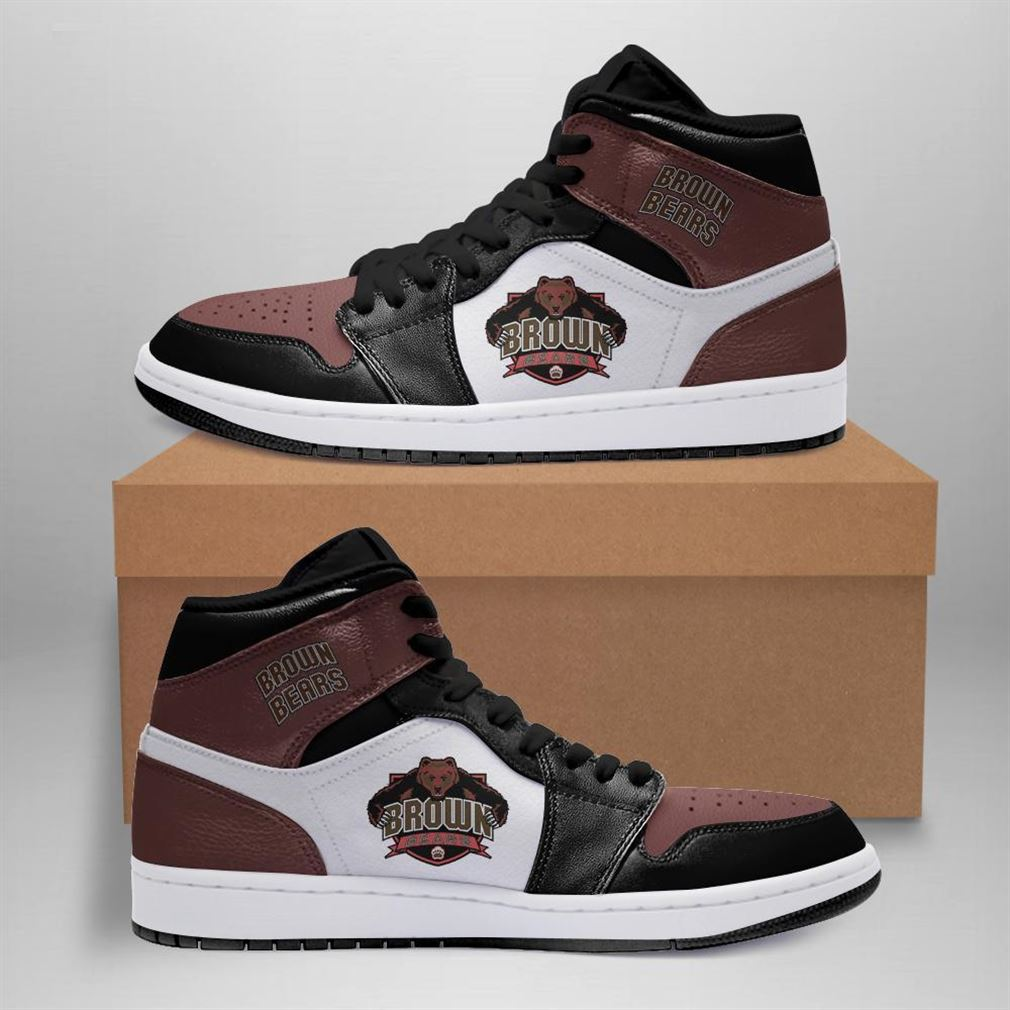 Brown Bears Ncaa Air Jordan Shoes Sport Sneaker Boots Shoes