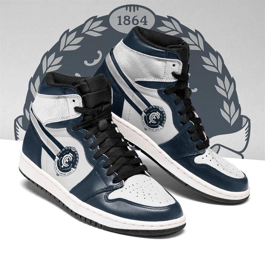 Carlton Blues Afl Air Jordan Shoes Sport Top Sneaker Boots Shoes