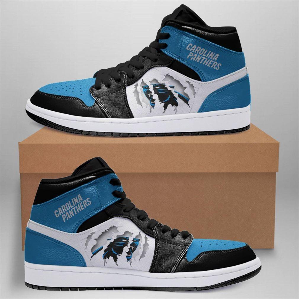 Carolina Panthers Nfl Air Jordan Shoes Sport Outdoor Sneaker Boots Shoes