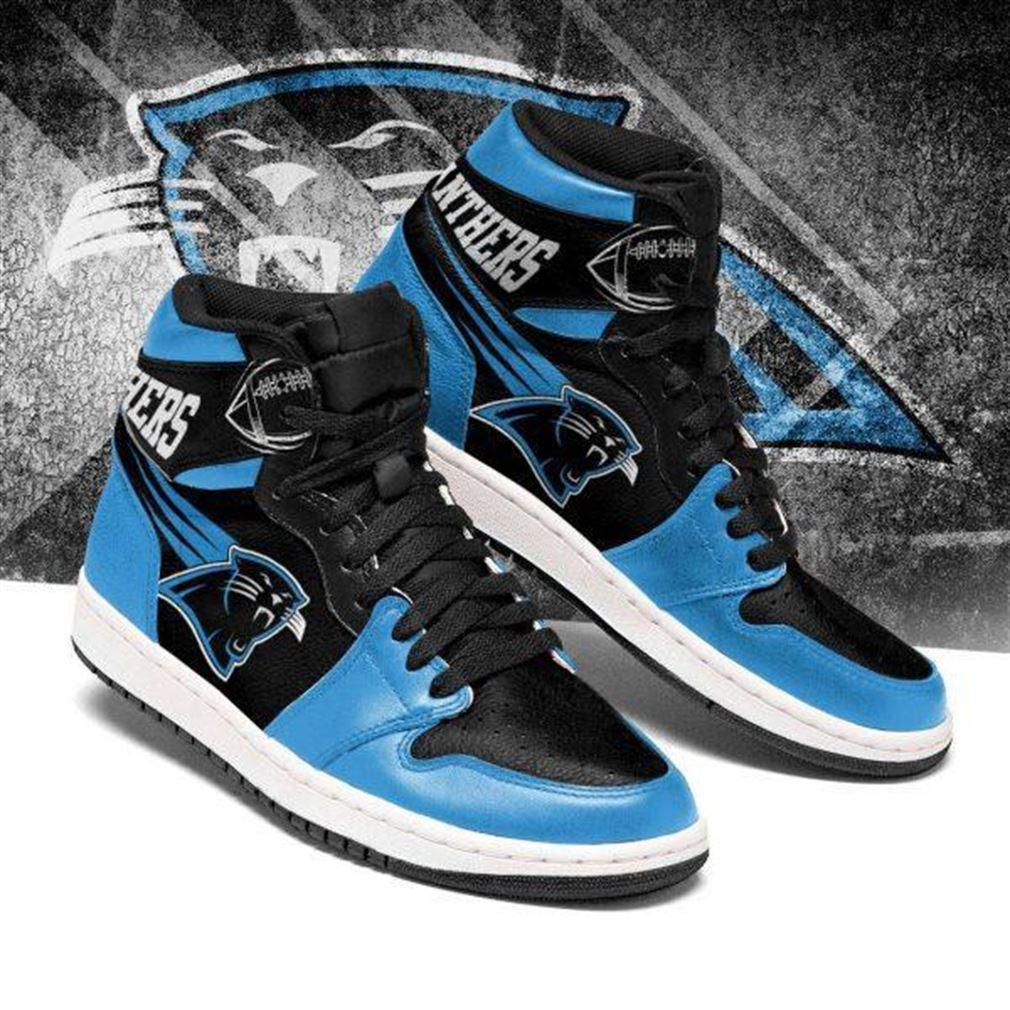 Carolina Panthers Nfl Football Air Jordan Shoes Sport V4 Sneaker Boots Shoes