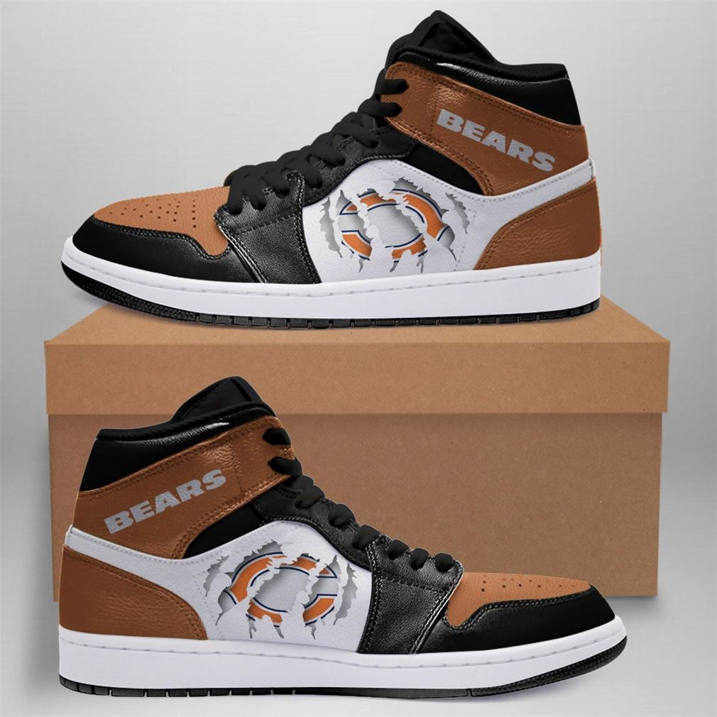 Chicago Bears Nfl Air Jordan Shoes Sport Outdoor Sneaker Boots Shoes