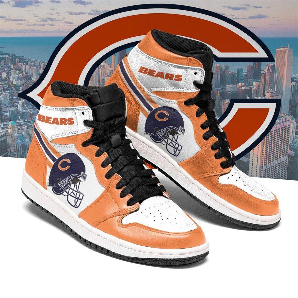 Chicago Bears Nfl Football Air Jordan Shoes Sport V2 Sneaker Boots Shoes