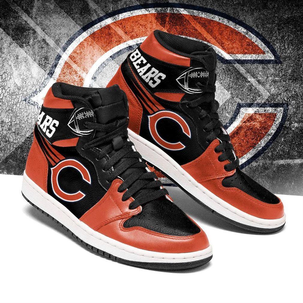 Chicago Bears Nfl Football Air Jordan Shoes Sport V3 Sneaker Boots Shoes