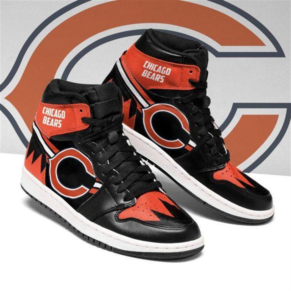 Chicago Bears Nfl Football Air Jordan Shoes Sport V4 Sneaker Boots Shoes