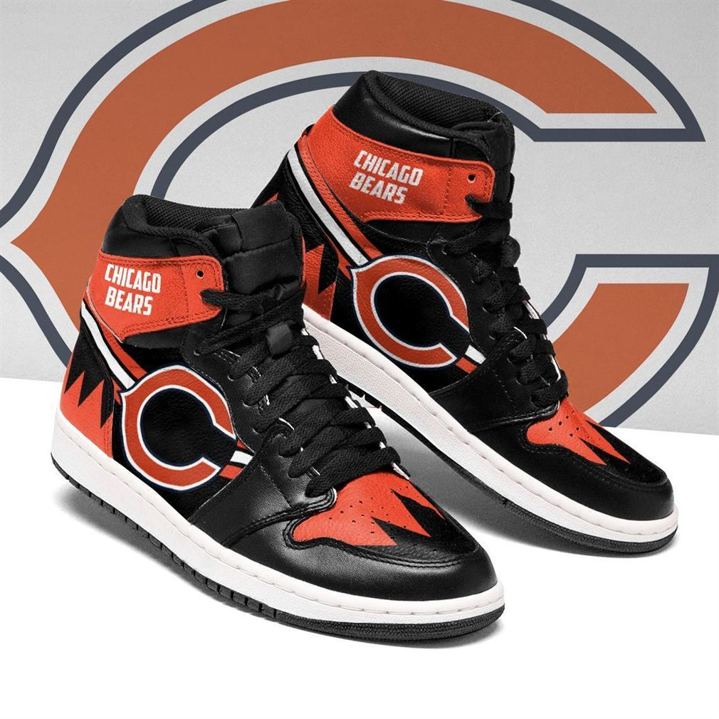 Chicago Bears Nfl Football Air Jordan Shoes Sport V5 Sneaker Boots Shoes