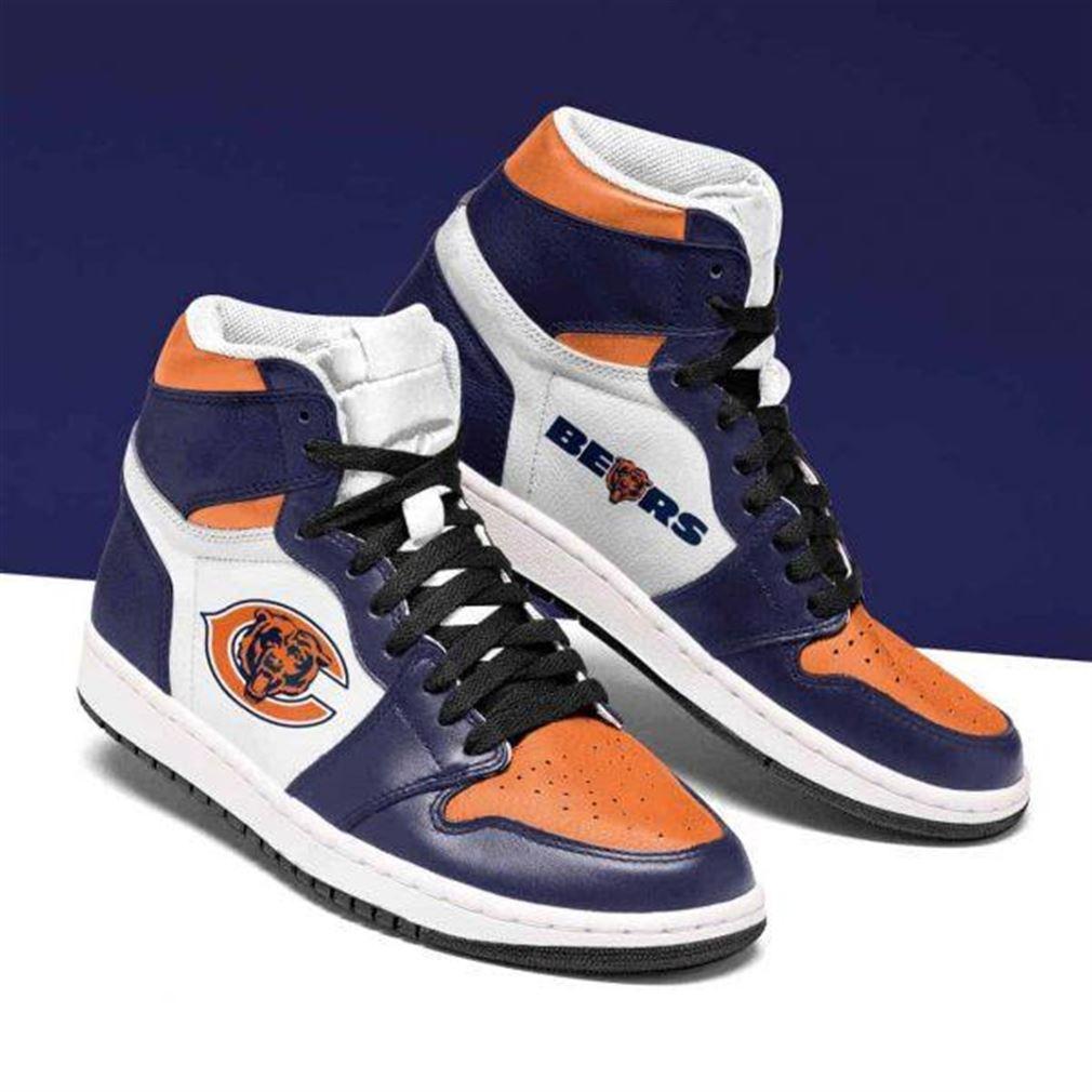 Chicago Bears Nfl Football Air Jordan Shoes Sport Sneaker Boots Shoes